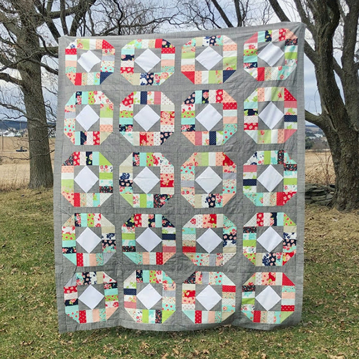 Fidelity Quilt Free Pattern Designed By Jessica Dayon