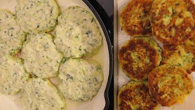 Jednostavne polpete od tikvica i svježeg sira / Simple Zucchini Fritters with Fresh Cheese