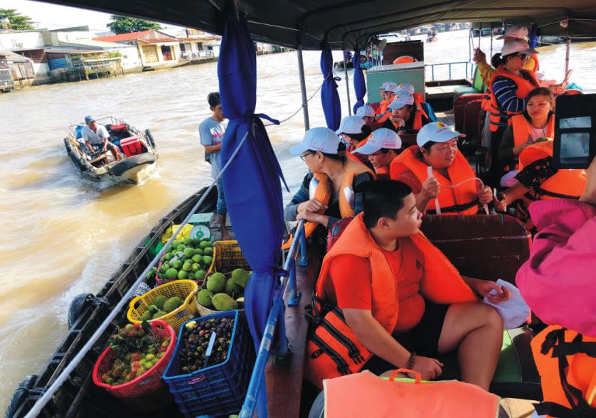 Chợ nổi Cái Răng Cần Thơ - Tour du lịch Cà Mau