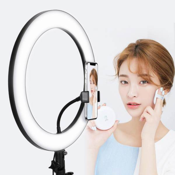 Ring-Light-Anneau-Bague-lumineux-LED-Diametre-33cm-Trepied-1m05-makeup-casablanca