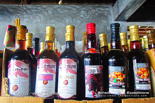 Fruit Wines - Sagada Travel Guide - Schadow1 Expeditions