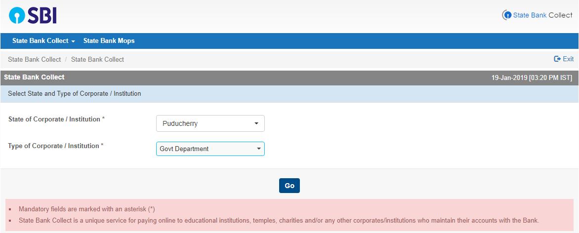 Puducherry Online Bill Payment Sites: Puducherry Water Bill Payment