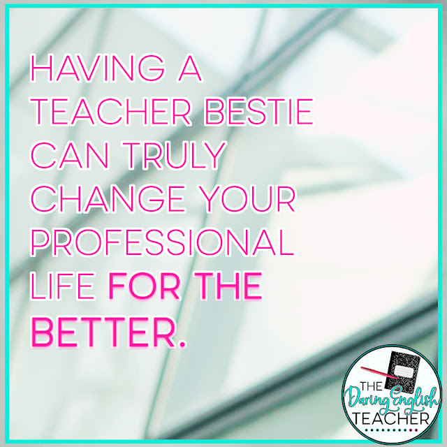5 Reasons to Have a Teacher Bestie at Work