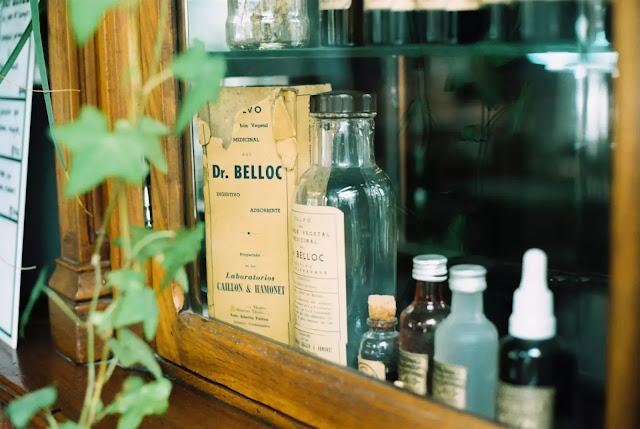 medicine in bottles