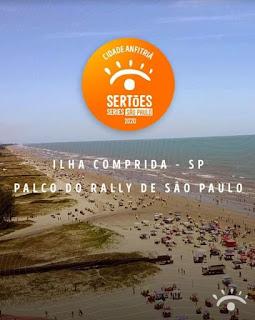 Ilha Comprida será a cidade anfitriã do primeiro Rally de São Paulo