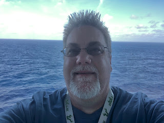 David Brodosi on a cruise ship