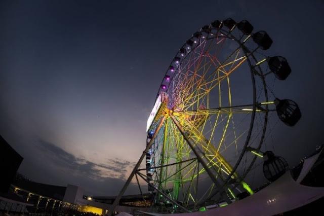 J-sky Ferris Wheel, AEON Mall