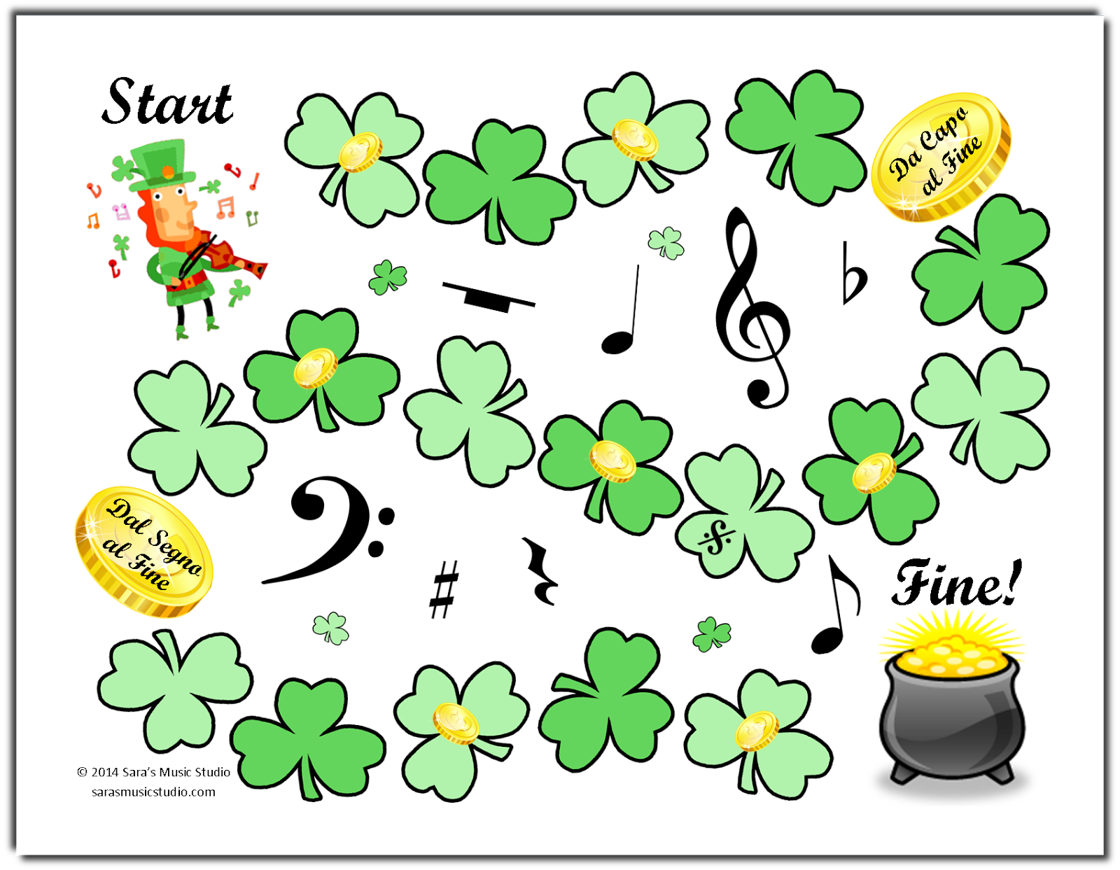 St Patrick S Day Party Games For Kids Adults