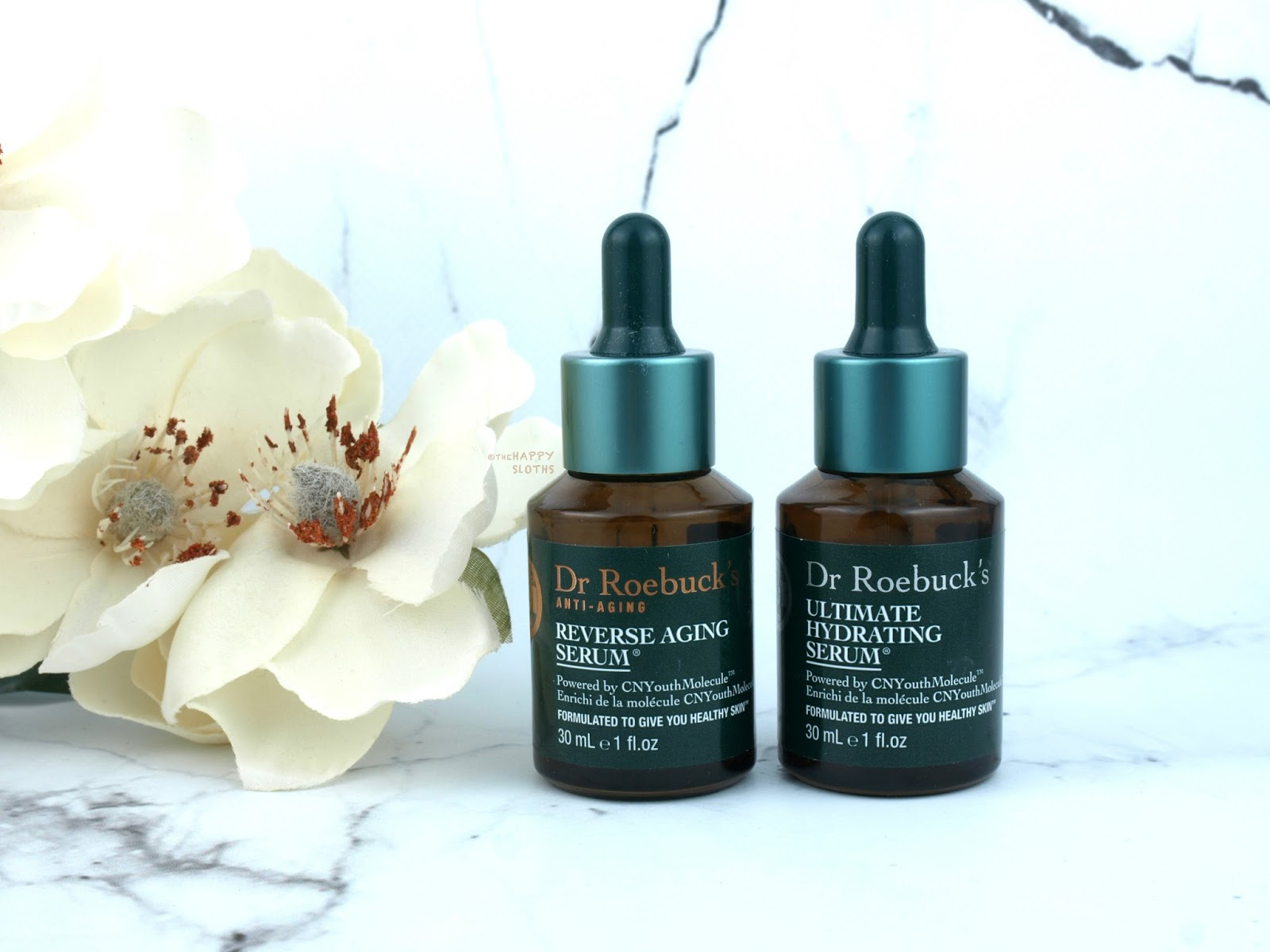 Dr. Roebuck's Reverse Aging Serum & Ultimate Hydrating Serum: Review