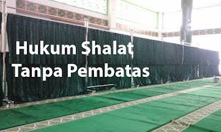 Hukum Shalat di Masjid Tanpa Pembatas Pria dan Wanita