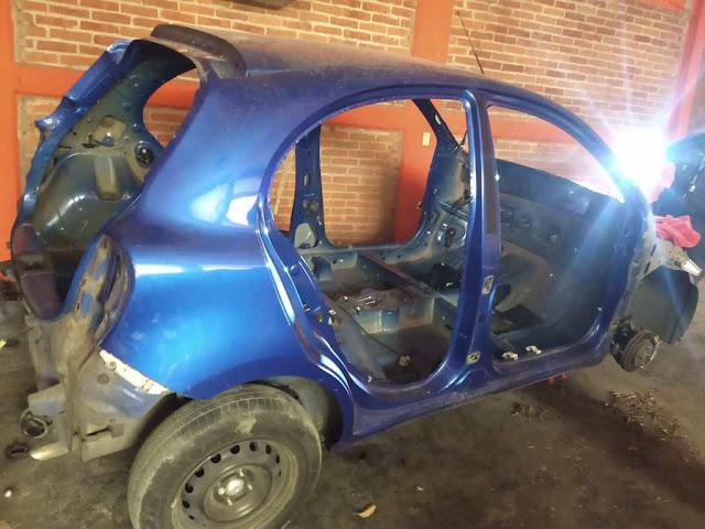 ATENCIÓN: Hallan deshuesadero ilegal en Atizapán ; localizan 5 autos robados  de Ecatepec