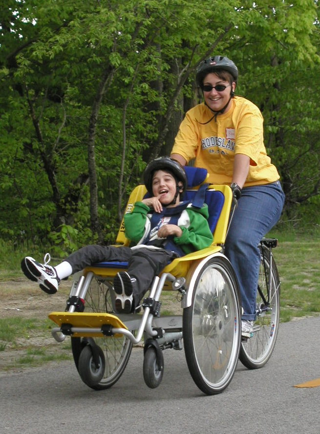 Everyone Outdoors: The Duet Wheelchair Tandem Allows Everyone A Biking  Experience