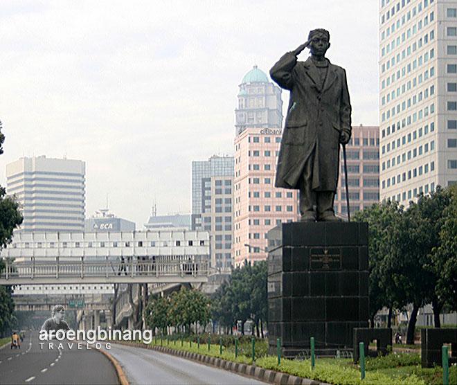 patung jenderal sudirman jakarta