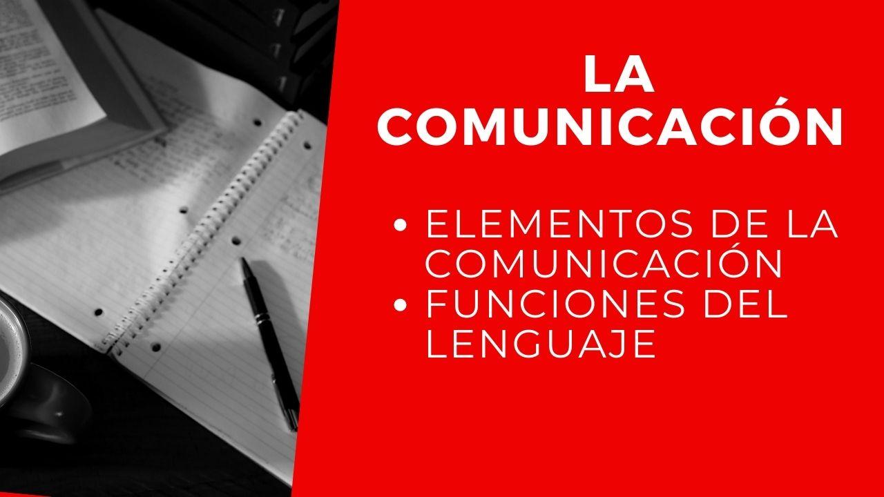 la comunicacion definicion elementos
