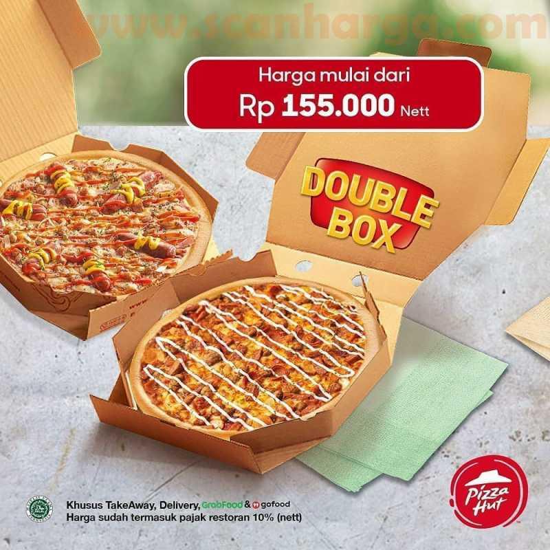 Pizza HUT Promo Paket Box - Cuma Nambah Rp 50.000 Sudah