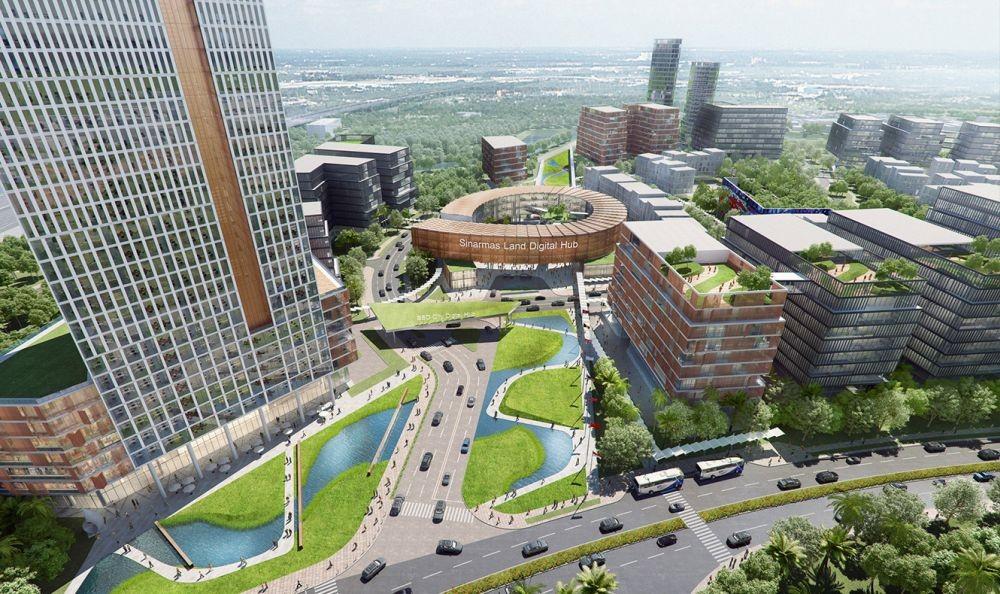Kavling Komersial - Kavling Kantor - Commercial Lot BSD City