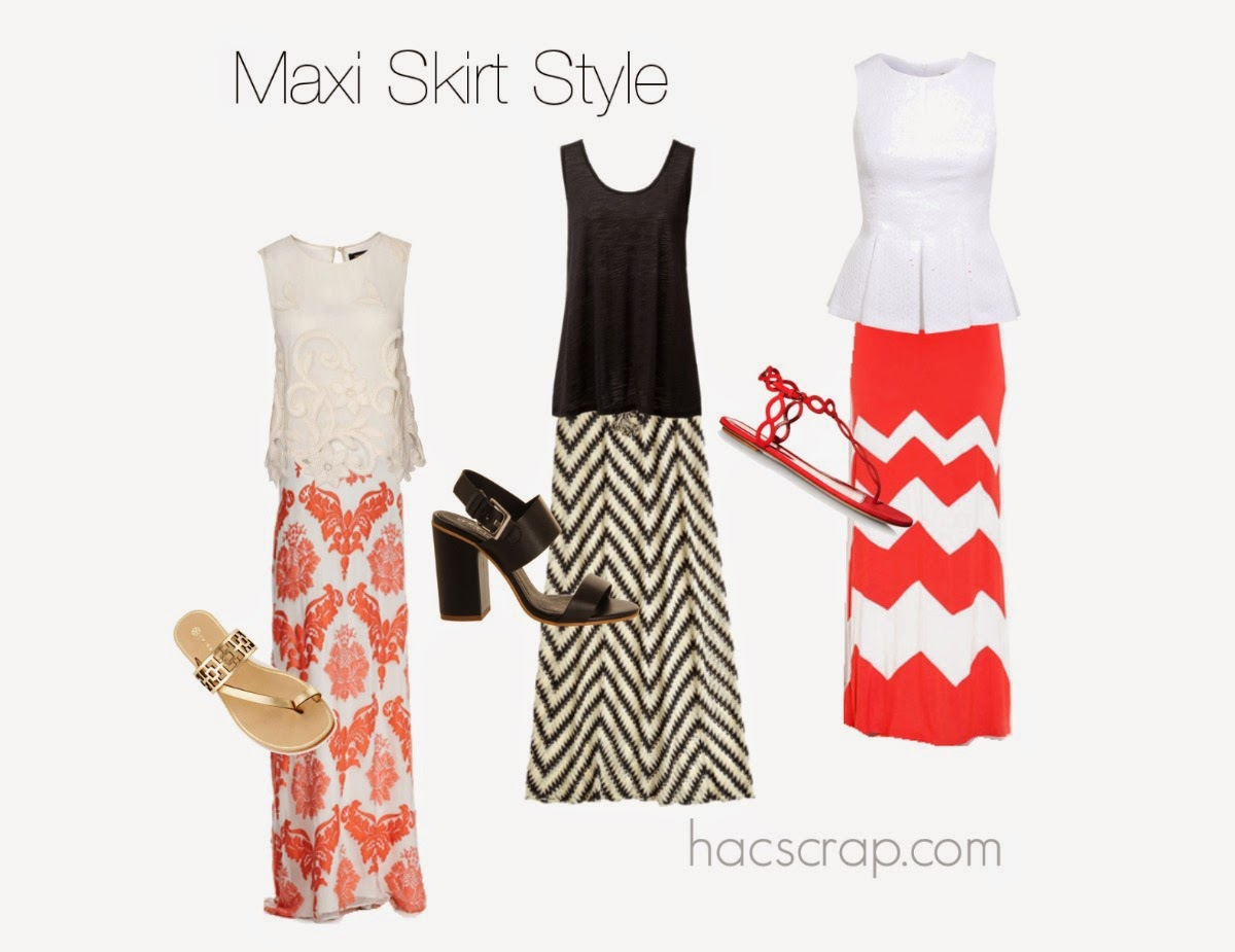 Maxi Skirt Style Options