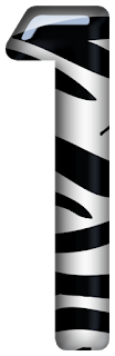 Abecedario Cebra. Zebra Abc.