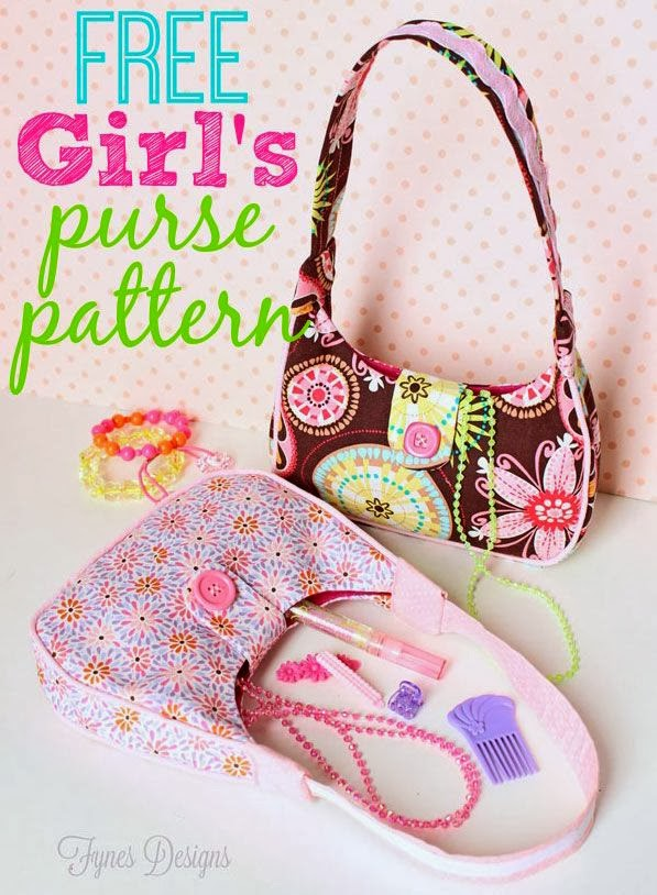 http://www.fynesdesigns.com/free-sewing-pattern-girls-purse