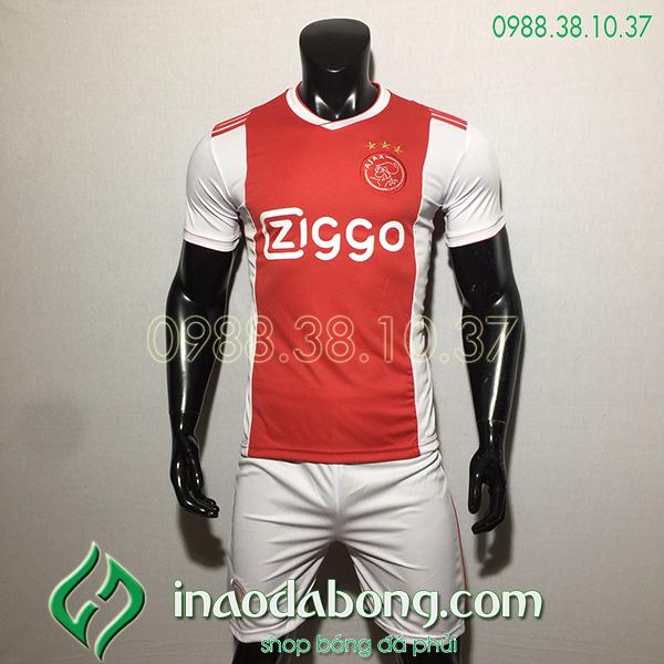 Áo bóng đá câu lạc bộ Ajax màu đỏ 2020