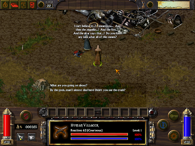 Screenshot from Arcanum