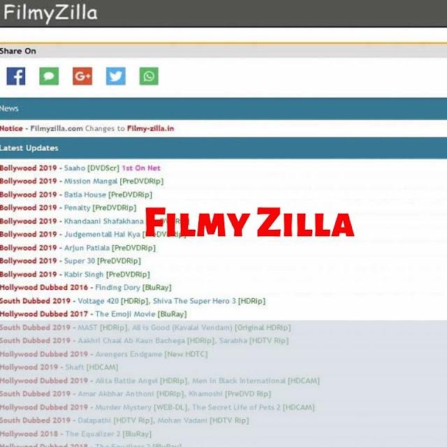 Filmyzilla 2020  Download Bollywood, Hollywood Hindi Dubbed Movies