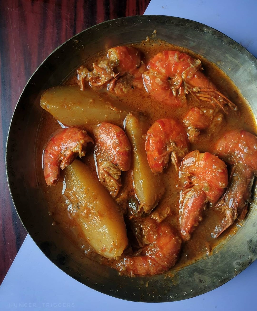 Prawn Aloo Curry