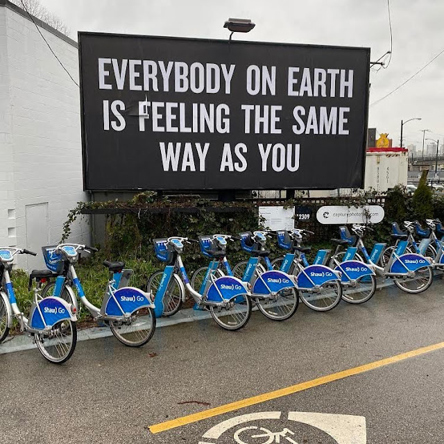 Everybody On Earth Is Feeling The Same Way As You - by Douglas Coupland