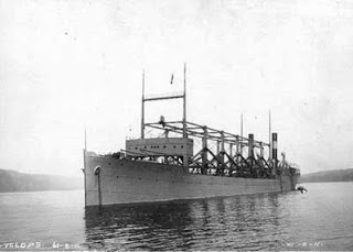 navios encontrados no mar