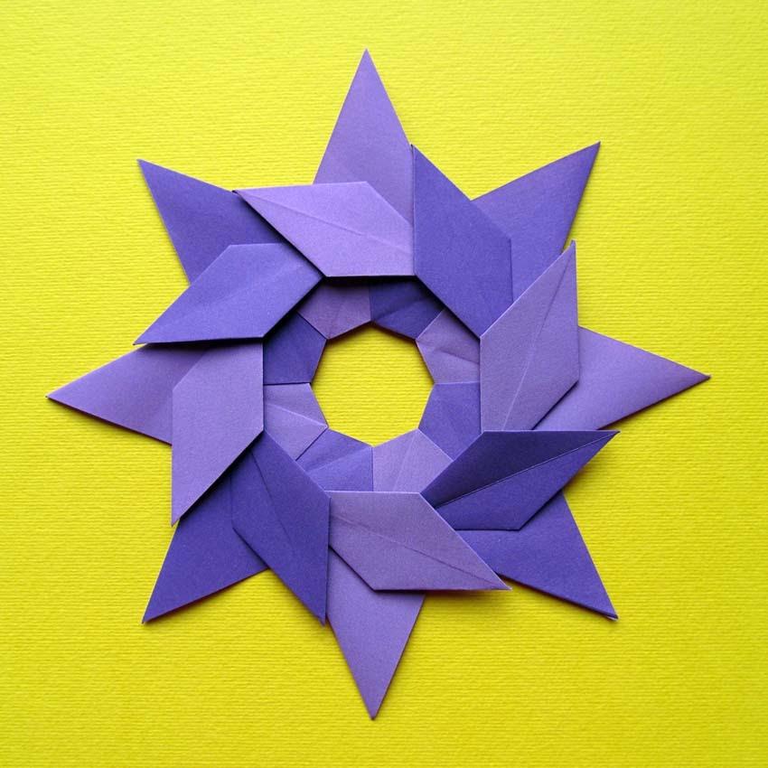 Origami poesie di carta stella ghirlanda star garland origami stella ghirlanda star garland by francesco guarnieri mightylinksfo Gallery