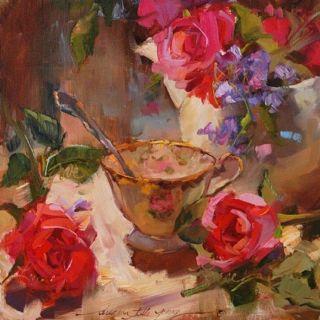 Цветочные натюрморты. Joe Anna Arnett