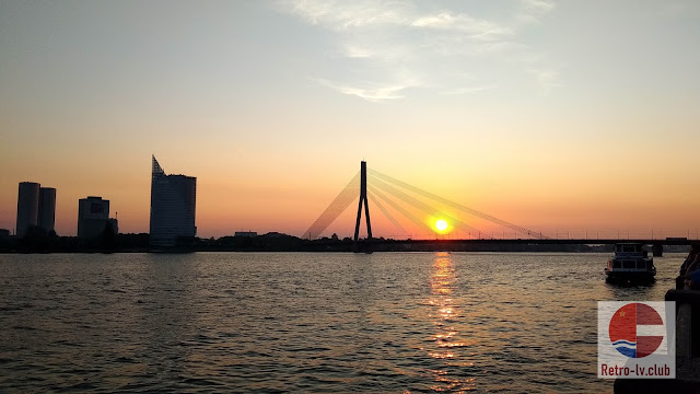 Riga Vanšu Gorkija tilts fotografija