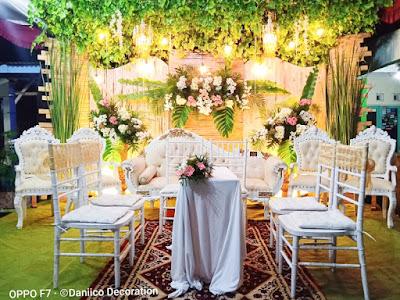 Dekorasi Pernikahan Rustic Minimalis