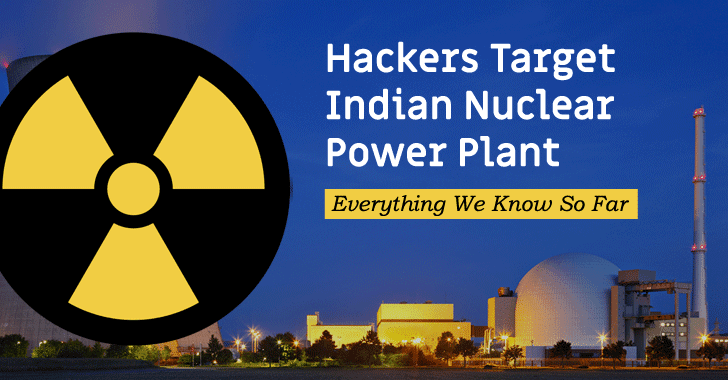 cyberattack indian nuclear power plant