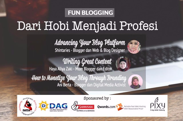 workshop, event, fun-blogging-8, lomba-blog