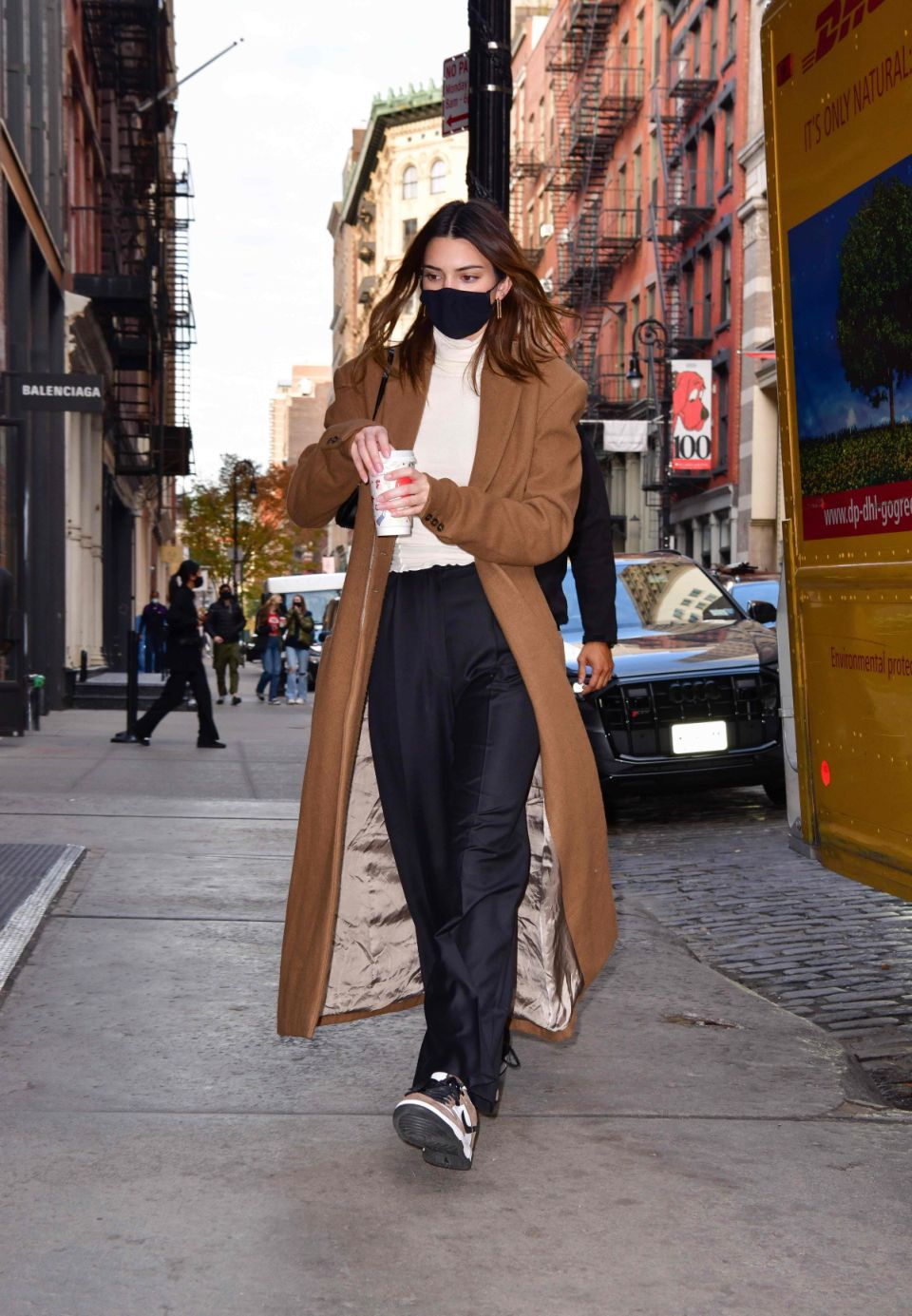 Kendal Jenner Winter Outfit Idea