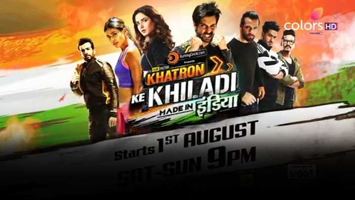 Khatron Ke Khiladi Made in India Indian stunt reality television series on Colors TV wiki, Contestants List, Host, starting date, finale date, Winner list, Runner-Up. Check here Indian reality tv series Khatron Ke Khiladi - Made in India update on MTWiki Blog.