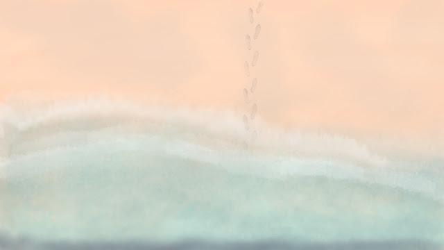 art - steps from water Michele Pridgeon