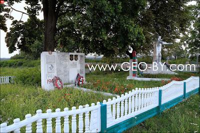 Тимковичи. Братская могила советских пограничников