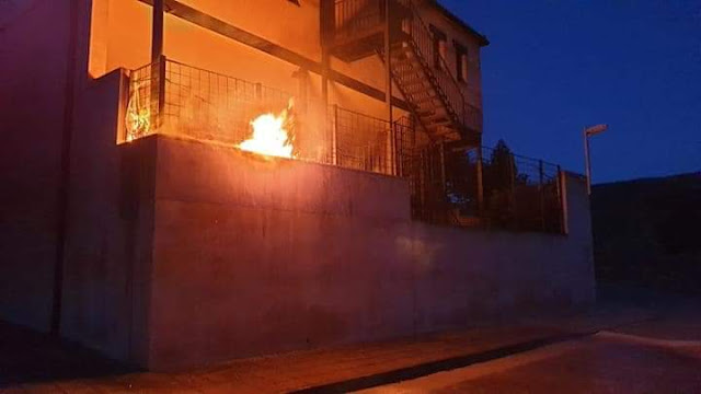 Denuncian el ataque a la vivienda del Alcalde de (IU) en Navas de Estena (Ciudad Real)