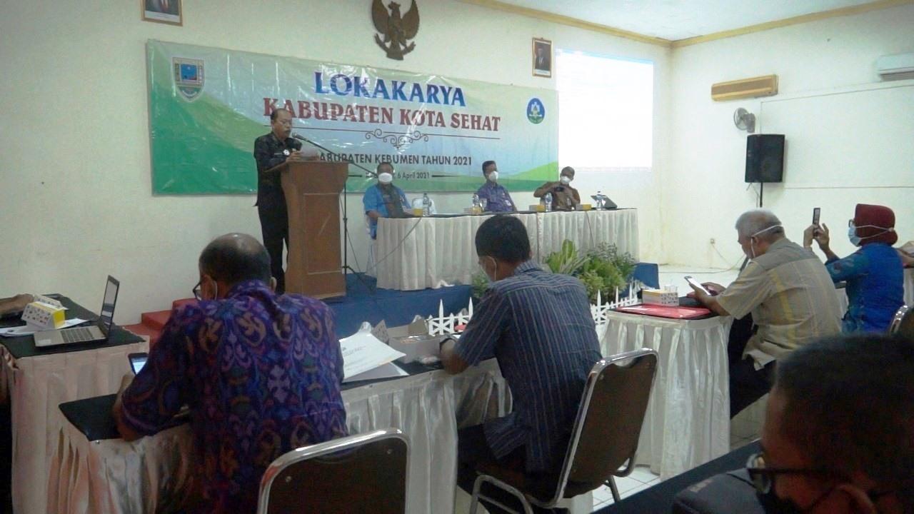 Dua Tahun Lagi, Kebumen Ditarget jadi Kabupaten Kota Sehat