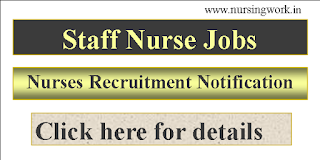 Staff Nurse Recruitment - Government of India