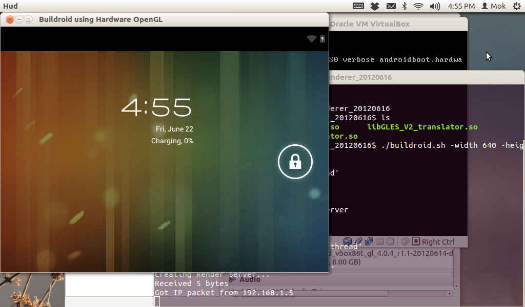 Setup Hardware OpenGL for Linux Android x86 VirtualBox (also runs