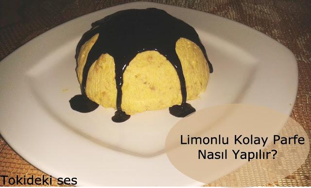 Limonlu Kolay Parfe Tarifi
