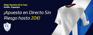 william hill promocion liga Sevilla vs Espanyol 16 febrero 2020