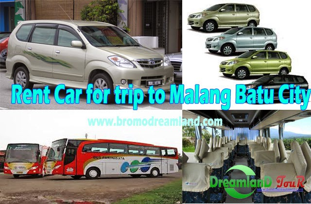 Rent Car for trip to Malang Batu City