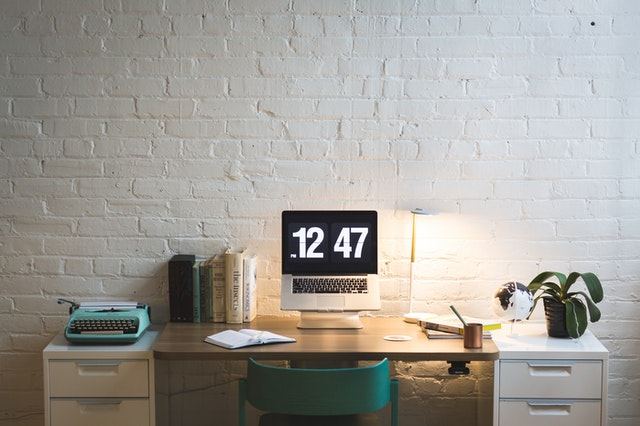 Create space that has your laptop and other gadgets for your personal time
