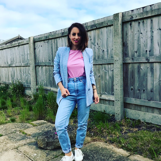 reality of being a mom, primark haul, reality of being a mum, h&m blazer, fashion blogger, what mama wore, asseenonme, asos jeans, channel mum
