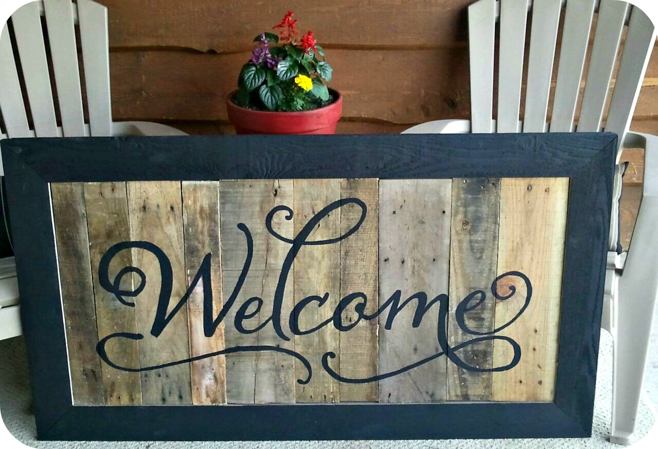 Welcome Signs For Home Design Ideas