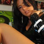 Andrea Rincon, Selena Spice Galeria 5 : Vestido De Latex Negro Foto 84